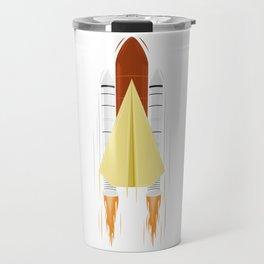 Paper shuttle Travel Mug