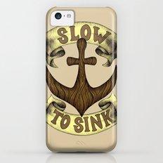 Slow to Sink iPhone 5c Slim Case