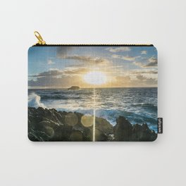 Sunrises in the East, Oahu Carry-All Pouch