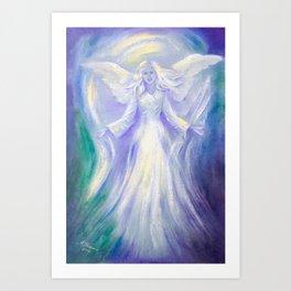 Angel of Love Art Print