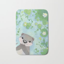 Otter in the Water Bath Mat