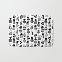 Geometric Pineapples Bath Mat