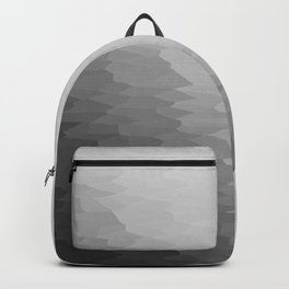 Gray Texture Ombre Backpack