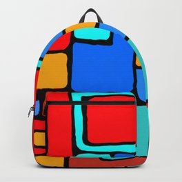 Cargo Ship Containers 10 Backpack