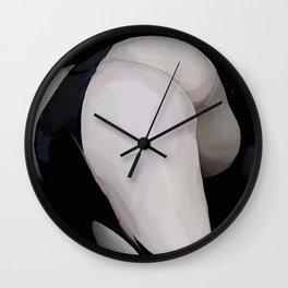 tushie 2 Wall Clock