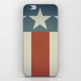 Three Starred Spangle Banner iPhone Skin