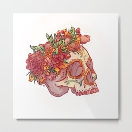 Traditionnel Metal Print