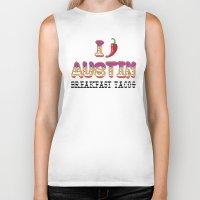 chile Biker Tanks featuring I chile Austin by Black Oak ATX