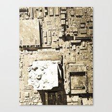 City Ruins Canvas Print