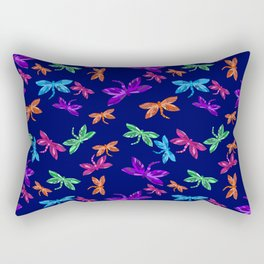 Dragon fly pattern Rectangular Pillow