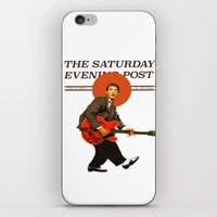 marty mcfly iPhone & iPod Skins featuring Marty Mcfly by IF ONLY
