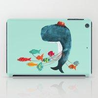 fish iPad Cases featuring My Pet Fish by Picomodi