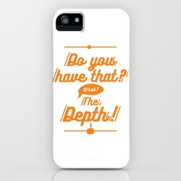 DoYouHave? iPhone Case