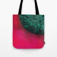 giants Tote Bags featuring Giants by Jamie Bryan