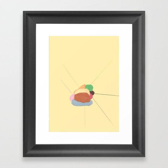Matche Framed Art Print