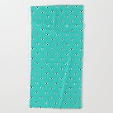 Blue Vision Beach Towel