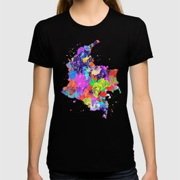 Colombia Map T-shirt