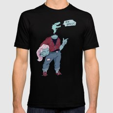 Dullahan Dame MEDIUM Black Mens Fitted Tee