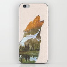 The Lone Wolf iPhone & iPod Skin