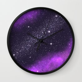 Ultra Violet! Wall Clock