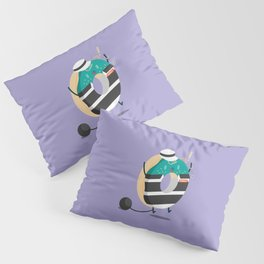 Criminal Donut Pillow Sham