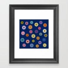 Fantasy Flowers Framed Art Print