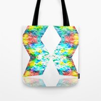 destiny Tote Bags featuring Destiny by inkko