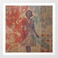 The Triumphal Entry Art Print