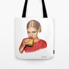 Lindsay At 9 AM Tote Bag