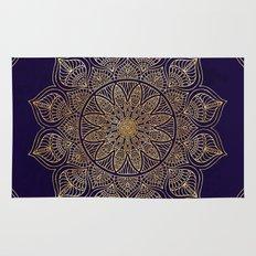 Gold Mandala Rug