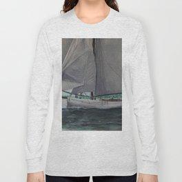 Tally Ho - A yacht worth saving Long Sleeve T-shirt