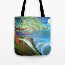 Tree by the Sea Tote Bag