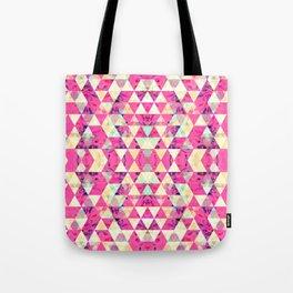 Pretty pattern pink Tote Bag