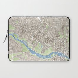 Richmond Virginia City Map Laptop Sleeve