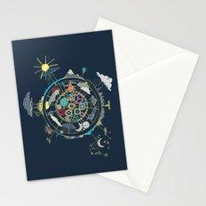 Running Like Clockworld Stationery Cards