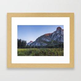 The Last Bit of Light Framed Art Print