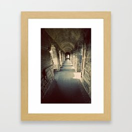 Going the Distance Framed Art Print