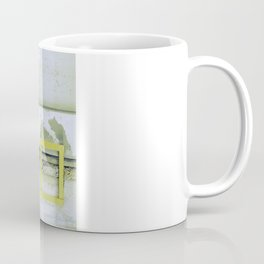 A Yellow Square Coffee Mug