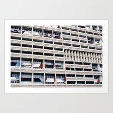 unite d`habitation Art Print