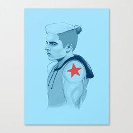 MCU - Punk Soldier Canvas Print