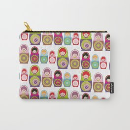 Kawaii Russian dolls Carry-All Pouch