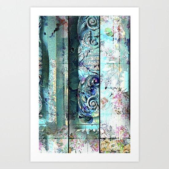 Romance a Florance Art Print