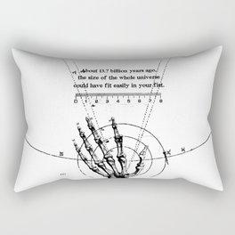 A Universe in a fist. Rectangular Pillow
