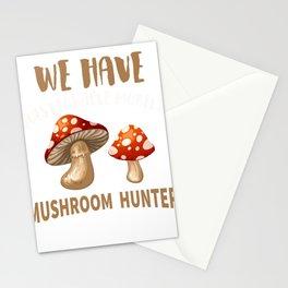 Mushroom Hunter Mycology Amateur Mycologist product Stationery Cards