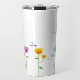 Colorful Garden Travel Mug