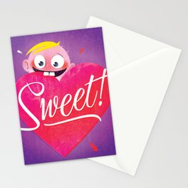 Sweet Valentine's Stationery Cards