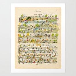 happy tunes Art Print