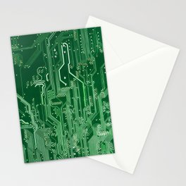 Electronic circuit board Stationery Cards