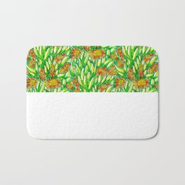 Ice Plants Bath Mat