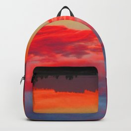 Sunset Headstand Backpack